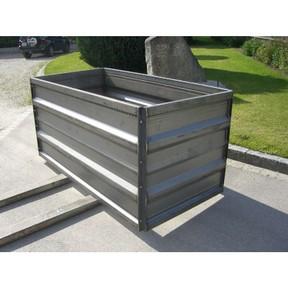 Hochbeete In Stahl Auf Mass Blank Oder Verzinkt Hagl Stahlbordwande